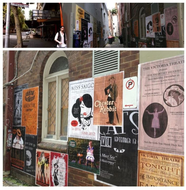 Theatre Lane Project 2012