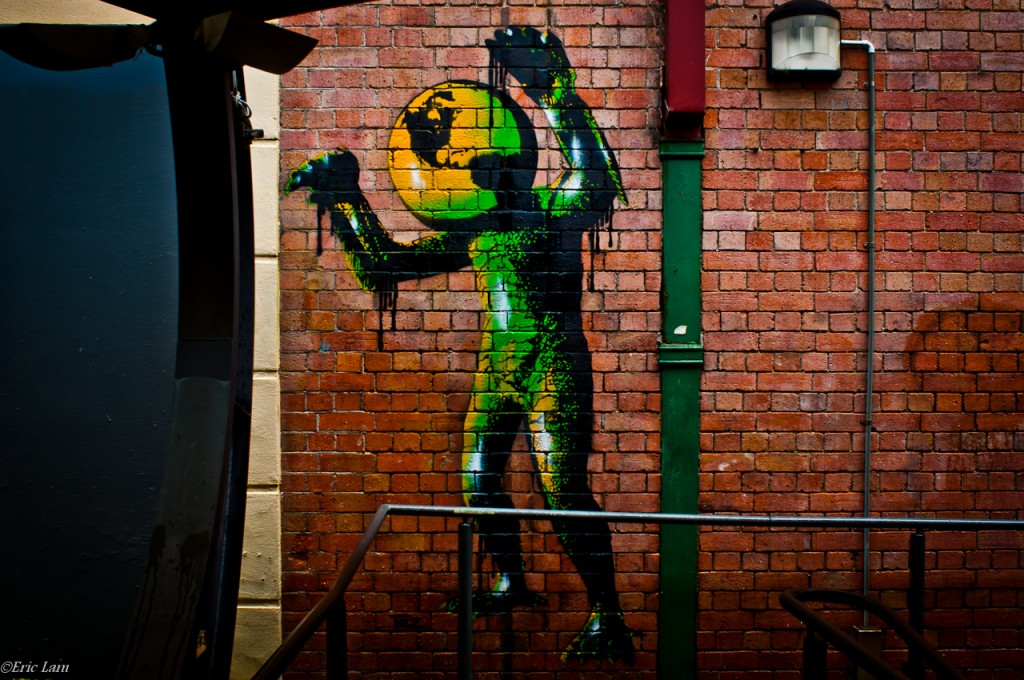 Street Art Walking (Newcastle)