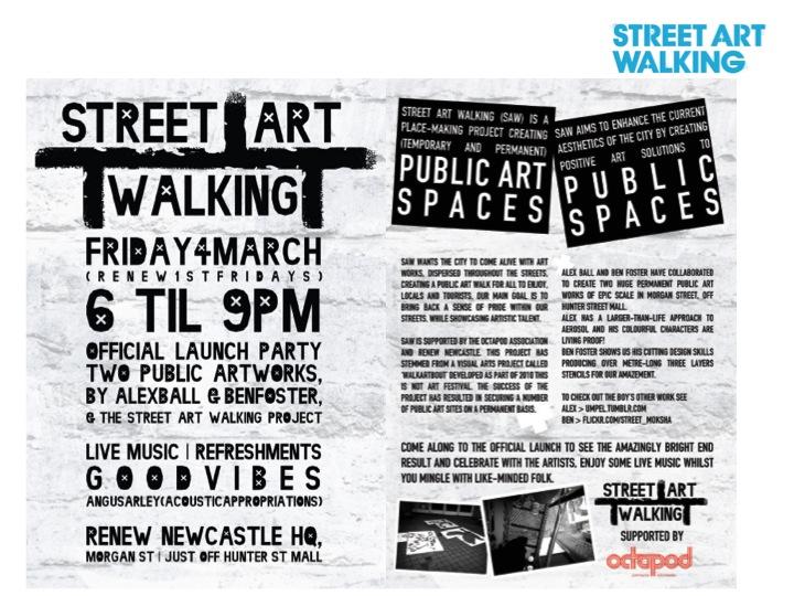 Launch of Street Art Walking